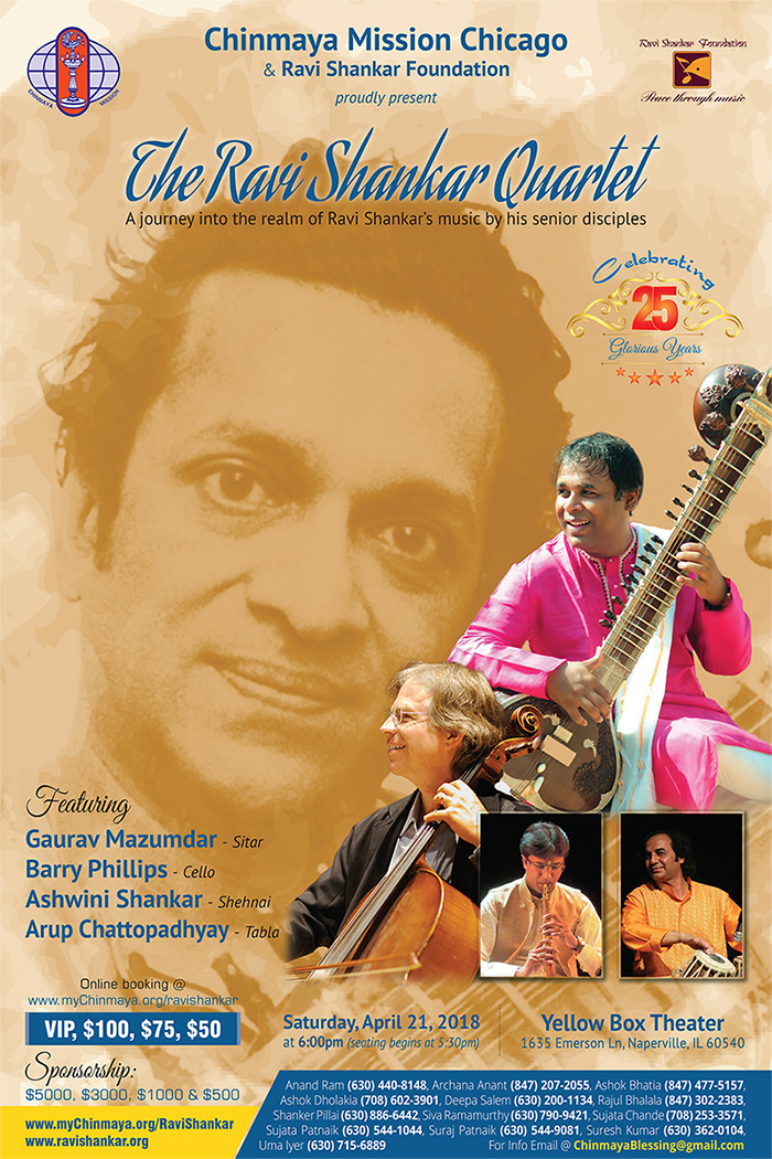 The Ravi Shankar Quartet